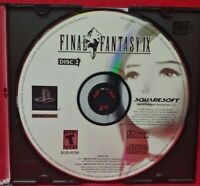Final Fantasy IX Disc 2 ONLY !!! -  Playstation 1 2 PS1 PS2 Rare Game - Tested