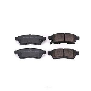 Disc Brake Pad Set fits 2009-2012 Suzuki Equator  POWER STOP