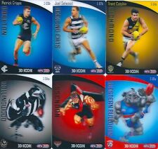 2020 afl teamcoach 3D ICON trading card you choose your card