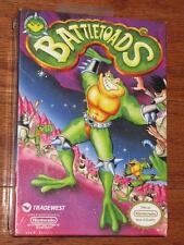 VINTAGE 90s NINTENDO BATTLETOADS VIDEO GAME NES 1991 WHITE SEAL H-SEAM NIB RARE