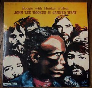 John Lee Hooker & Canned Heat - Boogie with Hooker n' Heat (1981 French Dbl LP)