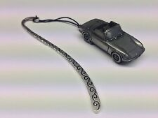 Lotus Elan Sprint Open Roadster FULL CAR on a Pattern bookmark with cord ref120