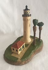 "Danbury Mint Lighthouse 5.75"" Point Vincente"