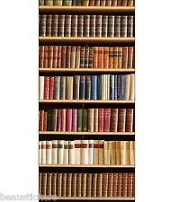 Aufkleber für tür schein auge deko Bibliothek ref 759 100x210cm