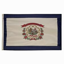 5X8 Poly West Virginia State Flag West Virginia Banner 5X8 Wv State Flag Us Made