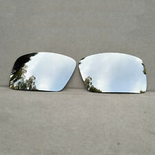 Silver Mirrored Replacement Lenses for-Oakley Eyepatch 2 Sunglasses Polarized