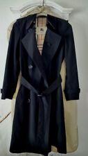 Burberry classic trench raincoat black xs