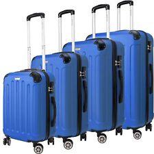 KESSER 4er Reisekoffer Set Trolley Hartschale Hartschalenkoffer Koffer S-M-L-XL