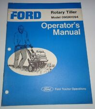 Ford Heavy Equipment Parts & Accessories for Tiller for sale   eBay