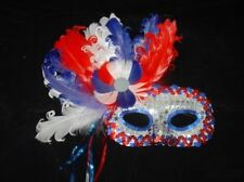 EYEMASK: FEATHER PATRIOTIC
