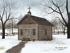 Art Print, Framed or Plaque by Billy Jacobs - Little Brown Church -  BJ1103