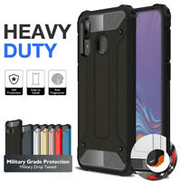 Armor Case for Samsung Galaxy A20/A30/A50/A70 A8 Cover Anti-scratch Dual Layer