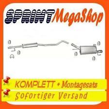 Opel Tigra Corsa C 1.2 1.4 55 59 66 KW ab 2000 Auspuff Auspuffanlage 0266