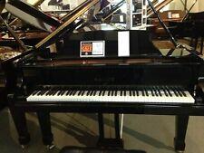Price Reduced - Pristine Black Ebony Baby Grand Piano w/Adjustable Bench