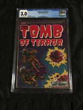 RARE Harvey Pre-Code Horror Comic 1954 Tomb of Terror #13 CGC 3.0 Good/Very Good