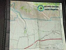 Mono Divide High Country, Sierra National Forest, Tom Harrison Maps