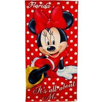 Disney Minnie Mouse Beach and Bath Towel