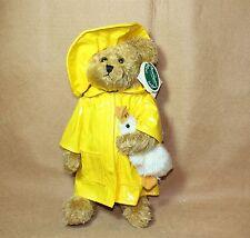 Bearington Bears Plush Donald in Raincoat Fall 2000 TOBY Winner 2001 NEW Retired
