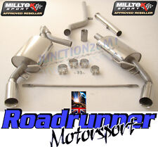 Milltek Clio 197 2.0 16V Exhaust System Cat Back Non Res LOUDER & Decat Pipe