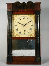 Ultra RareTreat & Bishop Miniature 1/2 Column & Splat Wood Works Timepiece Clock
