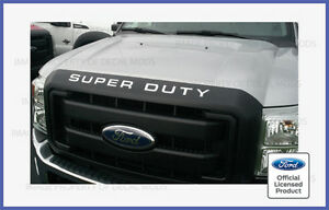 2008 - 2016 Super Duty Grille Insert Letters Decals F250 F350 Hood Grill Sticker