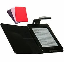 Para Amazon Kindle Touch Wifi Y 3g-Funda Cartera Con Luz Led De Lectura