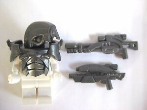 Custom ANDROID Armor & Weapon Pack for Minifigures Space Mass Effect Legion