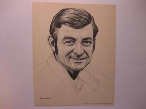 Bobby Allison 1976 Goodyear Tire & Rubber Company 8 x 10 Print Stock Car Racing