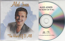ALED JONES The Heart Of It All UK 12-trk promo test CD Julie Fowlis Nell Bryden