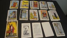 1971 The Rider Tarot Deck The Magician WAITE Complete 78 Cards Switzerland WR78.