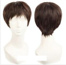 HOT ! 2017 Voltron Lance Wig Cosplay Short Brown COSPLAY Synthetic Wigs