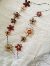 Necklace sophie digard crochet flowers