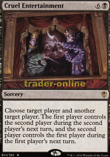 Cruel Entertainment (Wicked Spectacle) Commander 2016 Magic