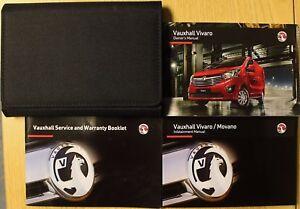 VAUXHALL VIVARO OWNERS MANUAL HANDBOOK SERVICE BOOK INFOTAINMENT 2014-2019 PACK