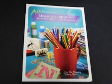 """Memory Makers Masters Scrapbook Book """"Making the Most of Your Scrapbook Supplies"""