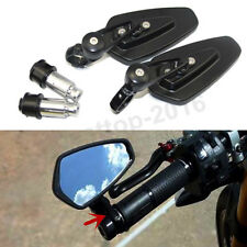 New Black Bar End Rear View Side Mirrors For Victory Octane / Vegas Model Bikes