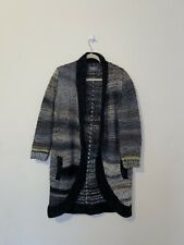 ZADIG & VOLTAIRE Heavy Knit OPEN CARDIGAN Italy size S