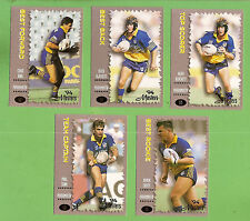 1994 MASTERS SERIES 3 RUGBY LEAGUE CARDS - PARRAMATTA EELS