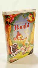 VHS Bambi Black Diamond Walt Disney Classic G Rated NTSC Children & Family
