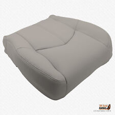 2001 2002 Lexus RX300 DRIVER Bottom Synthetic Leather (VINYL) Seat Cover Gray