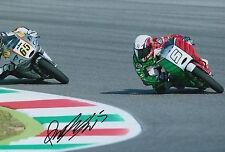 Romano Fenati mano firmato FOTO 12X8 VR46 TEAM KTM MOTO3 2015 8.