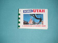 1960's Souvenir Booklet Scenic Utah A Wonderland Of Nature's Magic