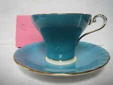 AYNSLEY TEA CUP AND SAUCER              C