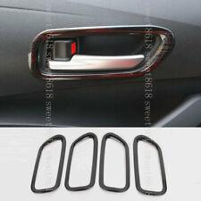 For Toyota Corolla 2020 Black Titanium Interior Door Handles Decorate Frame Trim