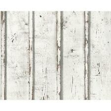 NEW AS CREATION PAINTED WOOD PANEL PATTERN REALISTIC TEXTURED MURAL WALLPAPER