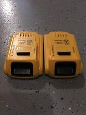 New Dewalt 20 Volt Max XR 2.0 AH Lithium Ion Batteries Model DCB203-2 DCB203