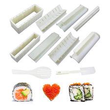 Easy Sushi Maker 10 Pcs Rice Ball Mold Sushi Roll Making Kit Set for Beginners