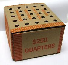 Box of 1,000 Circulated, Unsearched 90% Silver U.S. Quarters