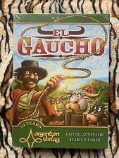 El Gaucho Set Collection Board Game by Argentum Verlag, English Edition- NEW