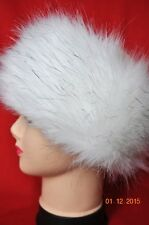 HEADBAND, HUSKY, Faux Fake Fur Hat Headband Winter Earwarmer Hat Ski FOX
